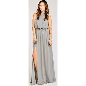 Show Me Your Mumu Heather Halter Dress, Size Small